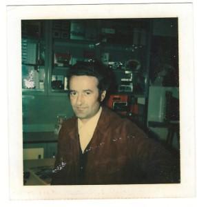 De Boni Remo, nel 1974 in officina